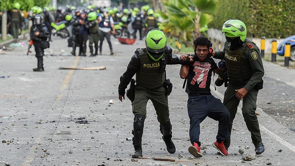 Las manifestaciones se mantienen a diario en Colombia