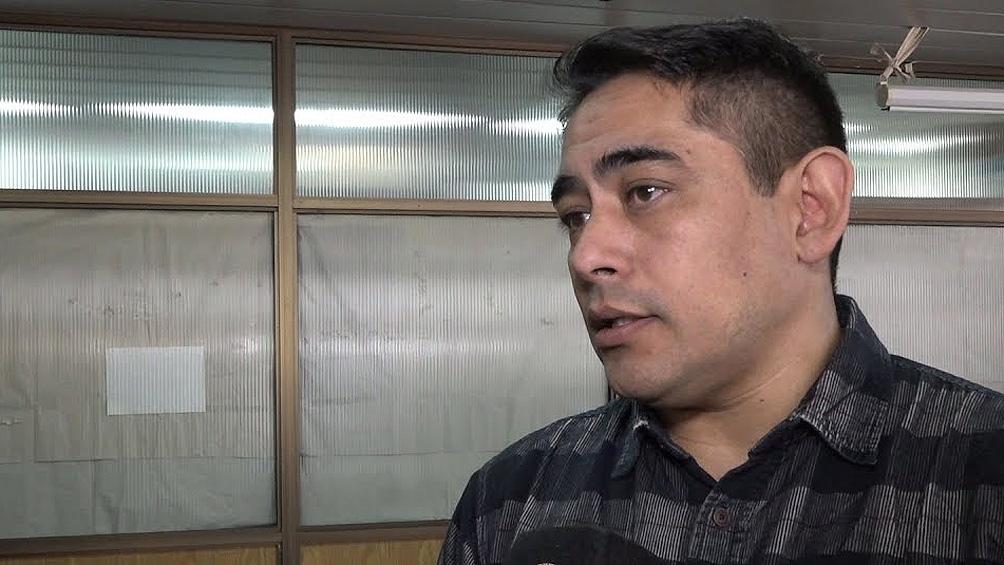 Juan Carlos Solalinde, acusado por el femicidio de su ex pareja Johana Galdeano.