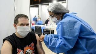 Argentina entre el 25% de los países con mayor tasa de vacunación
