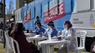 El tren sanitario bonaerense atendió a más de 1.700 personas en Bahía Blanca