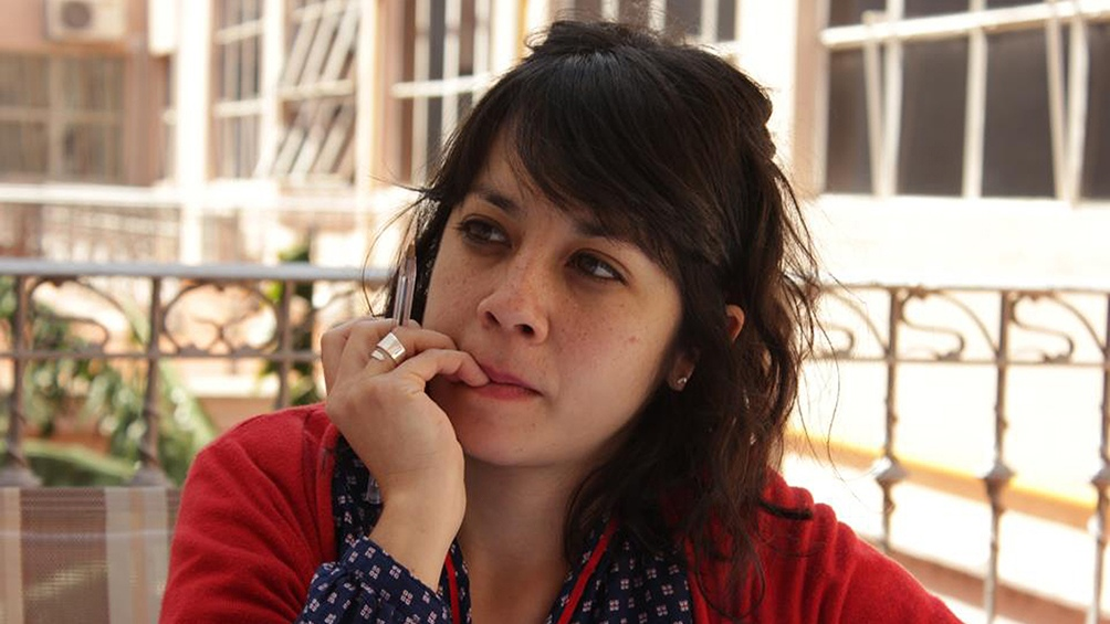"""Monica Zwaig es abogada, actriz y escritora, acaba de publicar su primera novela """"Una familia bajo la nieve"""" y trabaja en el Ministerio Público Fiscal."""