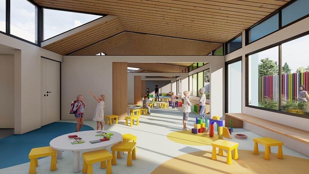 Pese a las innovaciones pedagógicas y arquitectónicas de los últimos 50 años, las ideas sarmientinas y del peronismo siguen manteniendo su vigencia en las construcciones escolares.