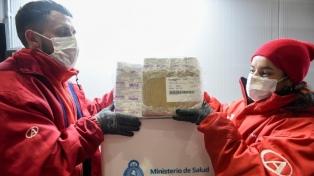 Salud confirmó la distribución de 371.400 vacunas Sputnik V dosis 1 en todo el país