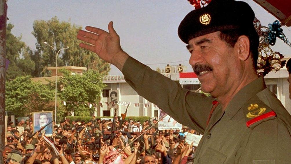 Saddam Hussein sostenía que el reactor de Osirak tenía fines pacíficos.