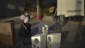 Tras votar en junio legislativas y estatales, los mexicanos vuelven a las urnas