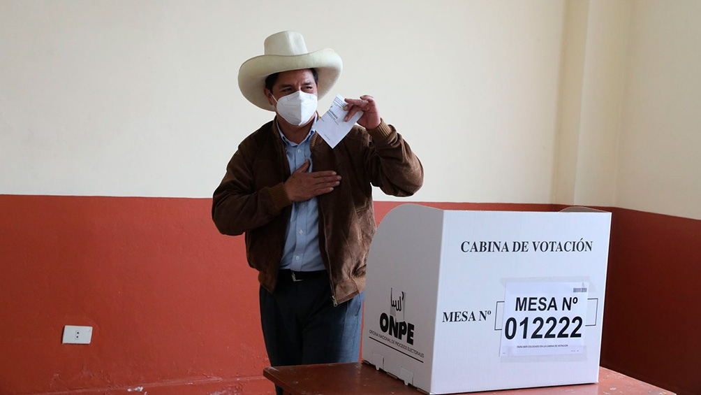 Castillo fue proclamado el lunes presidente electo