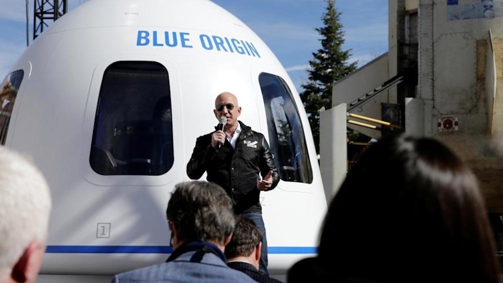 Jeff Bezos y su hermano serán los primeros