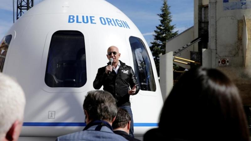 """Jeff Bezos y su hermano serán los primeros """"turistas"""" en el espacio - Télam  - Agencia Nacional de Noticias"""