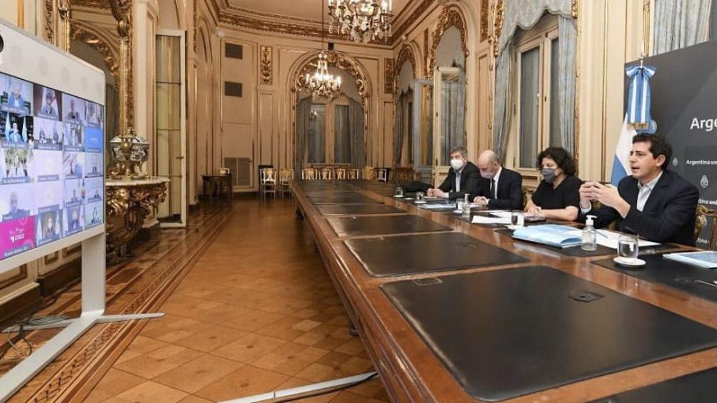 La reunión se desarrollará en el complejo de edificios gubernamentales Terrazas del Portezuelo, en San Luis capital.