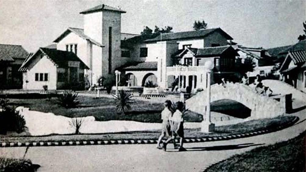 En el Bajo Belgrano, en 1949, se inauguró la Ciudad Infantil Amanda Allen, obra de la Fundación Eva Perón.