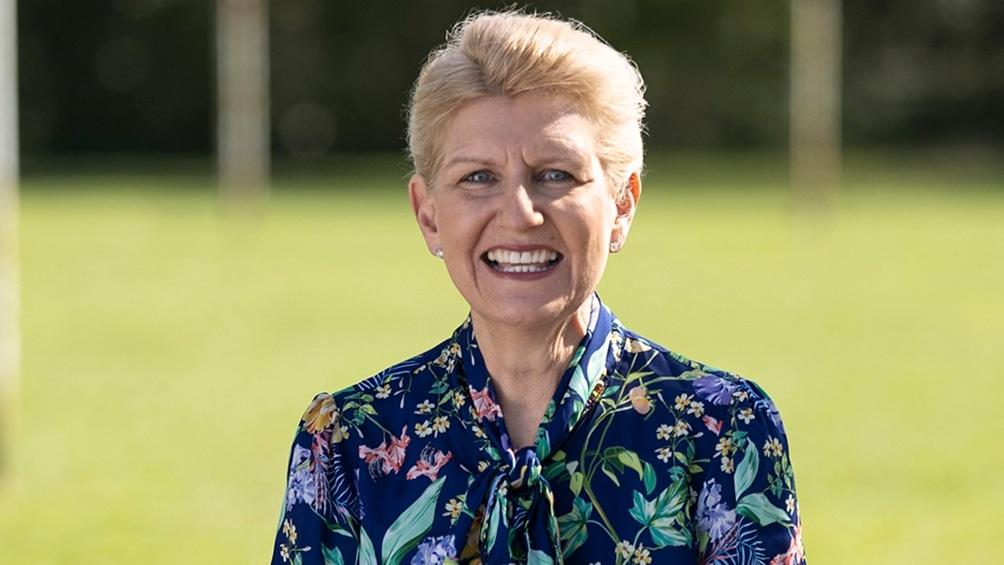 Hewitt, la exitosa empresaria que será la presidenta de la FA, a partir de Enero de 2022 (Foto: @FA)