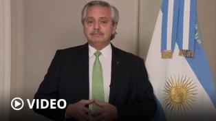 """Fernández: """"La geopolítica de las vacunas es el nuevo territorio donde se juega nuestra soberanía"""""""