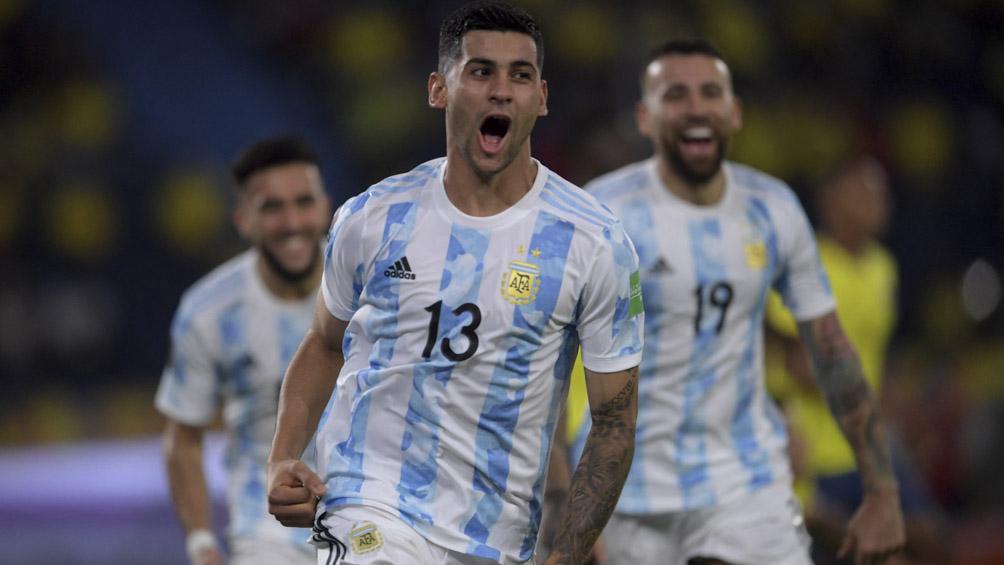 El seleccionado argentino volvió al predio de AFA tras el debut en la Copa América