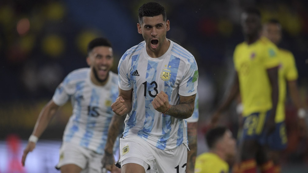 Los goles del empate agónico entre Argentina y Colombia