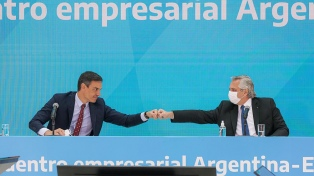 """Alberto Fernández: """"Argentina y España tienen una oportunidad única"""""""