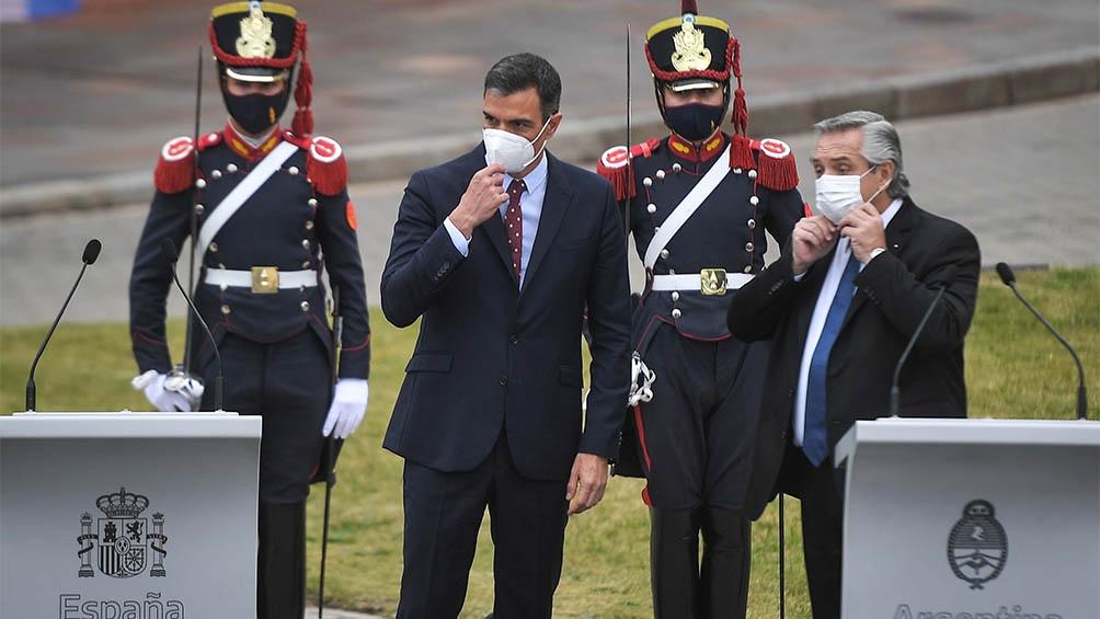 El presidente de Gobierno español se encuentra de visita oficial en Argentina.