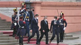 Sánchez marcó el compromiso de las empresas españolas por ampliar sus inversiones en Argentina