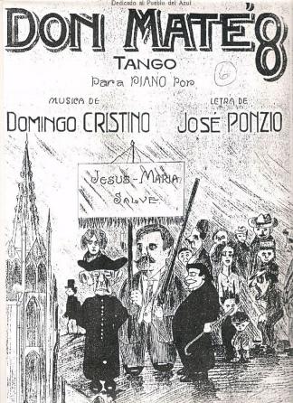 La furia homicida inspiró un tango.