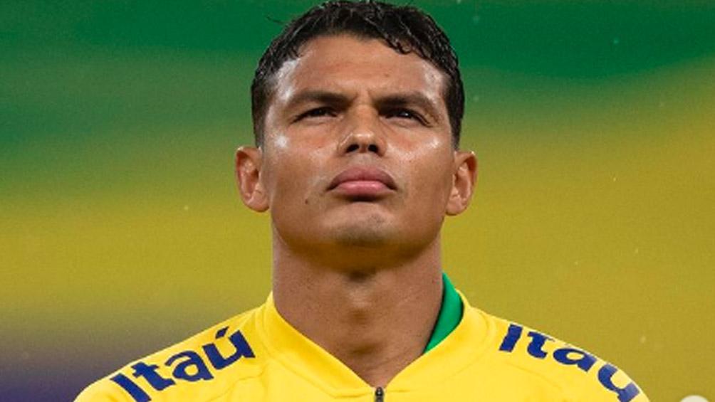 Thiago Silva por Caio, el cambio en la lista de Brasil