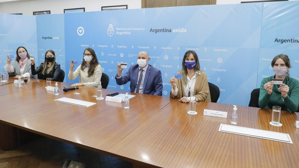 Participaron también la directora de Políticas de Géneros y Diversidad de Transporte y la presidenta de AySA.