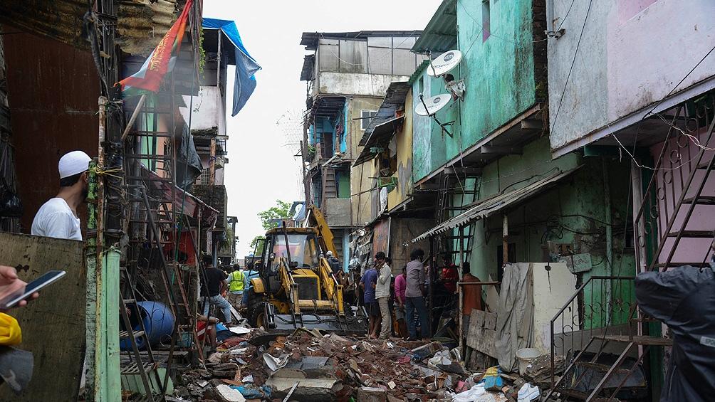 Los derrumbes de edificios mal construidos son frecuentes