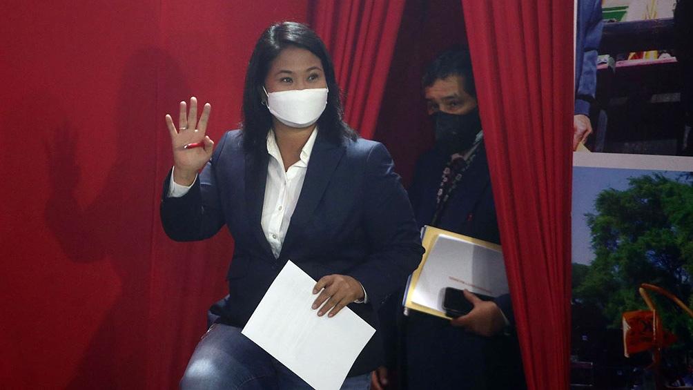 Keiko Fujimori tendrá audiencia este lunes para analizar su caso