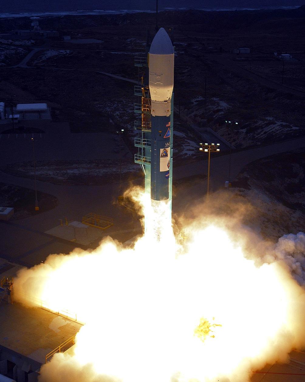 El proyecto que puso en órbita el satélite fue la cuarta misión satelital.