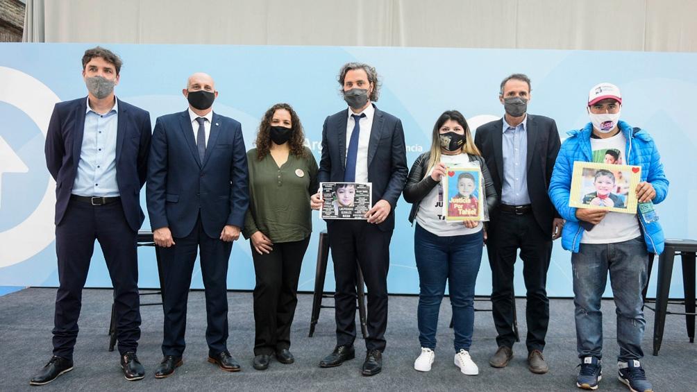 """Santiago Cafiero ratificó el compromiso del Gobierno en """"trabajar duramente para resolver las muertes evitables""""."""