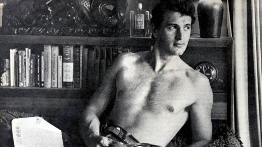 Rock Hudson, uno de los íconos de Hollywood, murió a los 59 años.