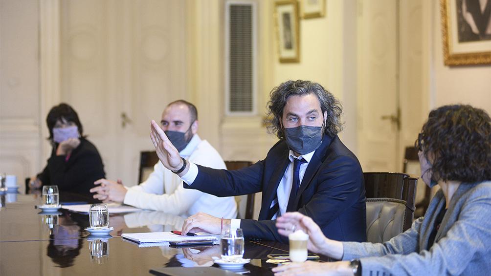 Vuelve a reunirse el gabinete económico en la Casa Rosada
