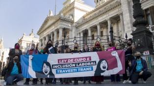 Los avances que puede traer la ley de cupo trans