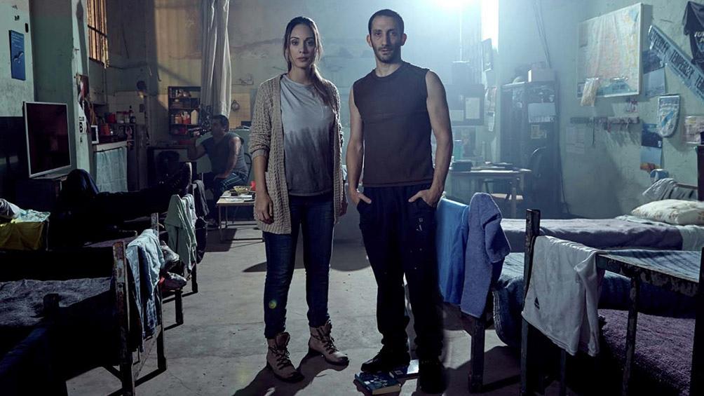Martina Gusmán y Juan Minujín, dos de las muchas figuras de la exitosa serie.