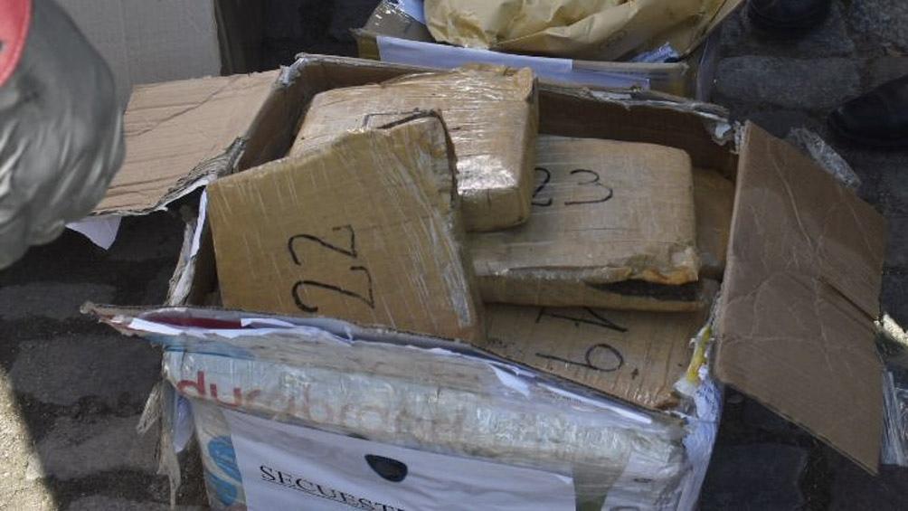 En el año se destruyeron más de 5 toneladas de drogas, informaron fuentes policiales de CABA.