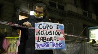 Diputados aprobó y envió al Senado el proyecto de ley sobre cupo laboral travesti trans