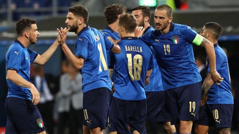 Italia venció a Gales y quedó primero en su grupo