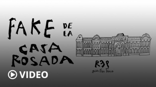 La Fake News del color de la Casa Rosada