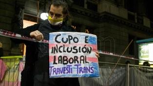 El Ministerio de las Mujeres celebró un año del decreto de cupo laboral travesti-trans