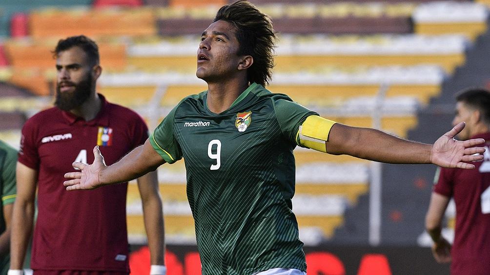 Moreno Martins, goleador y referente de Bolivia que quiere mejorar su nivel en medio de crisis (foto archivo)