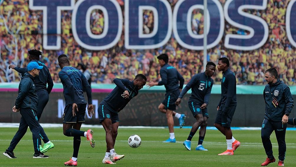 Ecuador llega en un buen momento en Eliminatorias para la Copa América (foto archivo)
