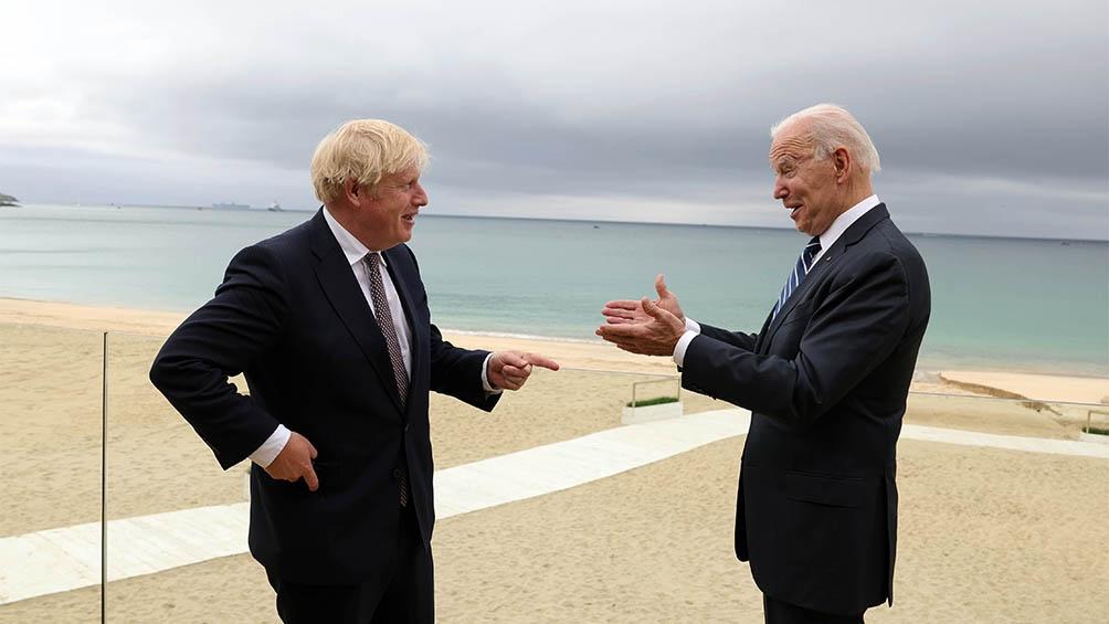 Orgulloso de su ascendencia irlandesa, el presidente estadounidense, Joe Biden, también reafirmó su compromiso con el protocolo, que, según dijo, garantizará la paz.
