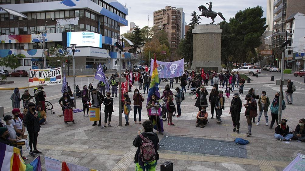 Marcha en Neuquén. Foto: David Sánchez.