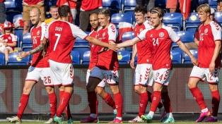 Dinamarca venció a República Checa y se metió en semifinales de la Eurocopa tras 29 años