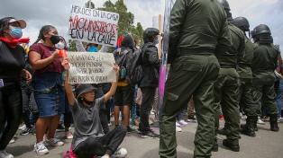 """La protesta se hizo sentir en todo Colombia y Duque reiteró su discurso contra """"el caos"""""""