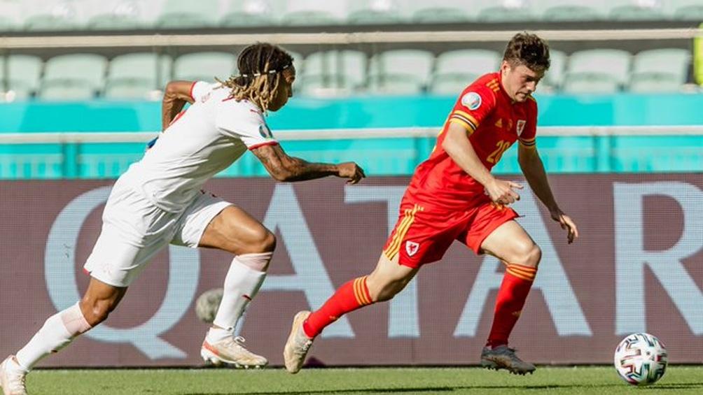 Gales y Suiza igualaron en el debut de ambos países en la Eurocopa 2021