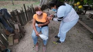 El día que las vacunas llegaron a Colonia Aborigen, la tierra de la masacre de Napalpí