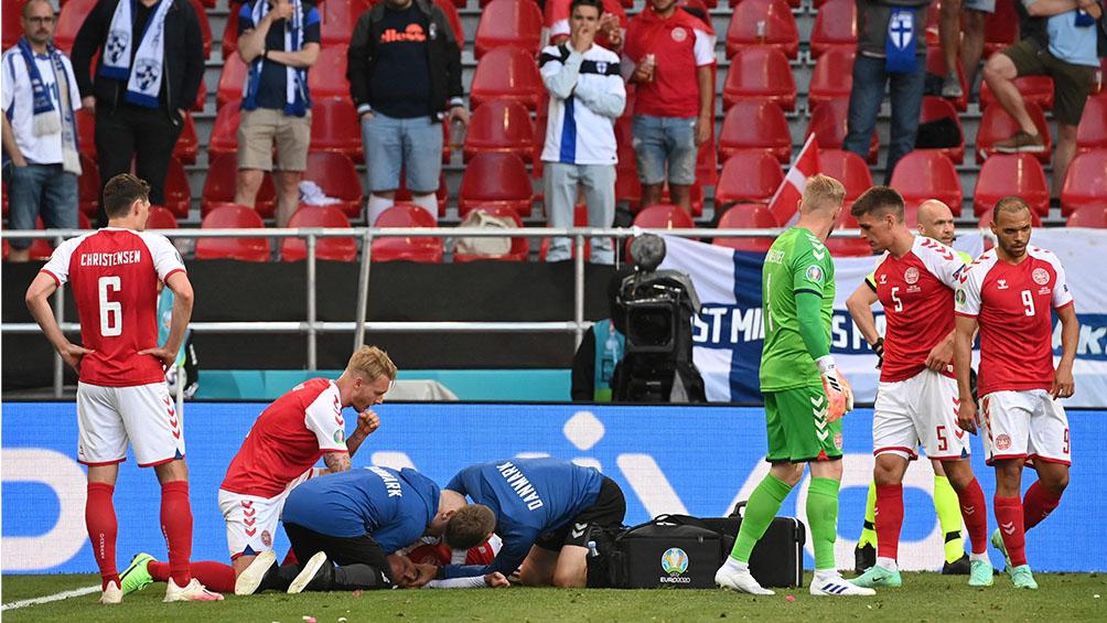 Dinamarca perdió con Finlandia después de la conmoción por Eriksen
