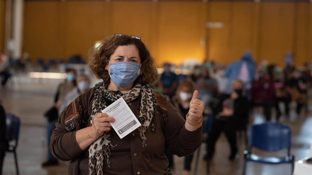 Al viernes 11 de junio Argentina aplicó 16.018.940 vacunas, 12.814.616 de la primer dosis y 3.204.324 de la segunda.