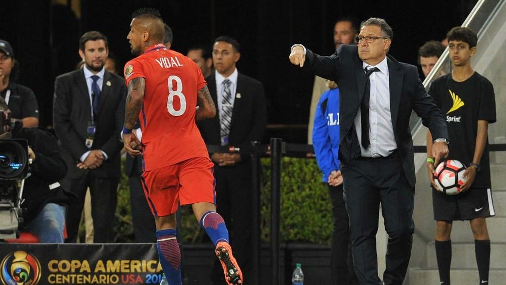 Argentina y Chile se vieron en la final de la Copa América jugada en Estados Unidos.