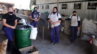 Estiman que el sector del reciclaje puede generar 450 mil empleos en países de la región