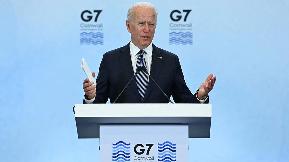 Durante la cumbre, Joe Biden anunció la donación de vacunas que hará Estados Unidos.